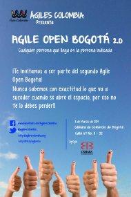 Agile Open Bogota – Marzo 8 de2014